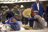 Yi Minority People's Marketplace in Kunming, Yunnan Province, People's Republic of China Photographic Print