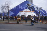 Crowds at Olympic Superstore During 2002 Winter Olympics, Salt Lake City, Ut Photographic Print