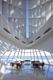 Interior of the Milwaukee Art Museum on Lake Michigan, Milwaukee, WI Photographic Print