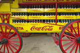 Old Coca-Cola Soda Wagon Antique in Central Ga Off Highway 22 Photographic Print