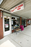 "Floyd's City Barber Shop in Mount Airy, North Carolina, the Town Featured in ""Mayberry Rfd"" Photographic Print"