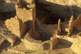 The Cliff Palace at Anasazi Indian Ruins, Mesa Verde, CO Photographic Print