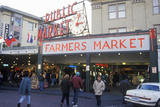 Pike Place Public Farmers Market, Seattle, Wa Photographic Print