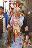 Native American in Full Regalia Dancing at Pow Wow Photographic Print