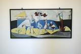 La Joie De Vivre, Painting by Picasso, Picasso Museum, Antibes, France Photographic Print