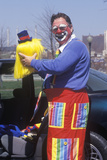 A Clown, Kansas City, MO Photographic Print