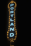 Neon Sign in Portland, Or Photographic Print