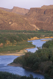 Rio Grande River, Tx Photographic Print