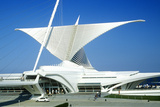 Exterior of the Milwaukee Art Museum on Lake Michigan, Milwaukee, WI Photographic Print