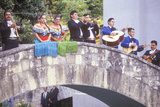 A Mariachi Band Performs for the Clinton/Gore 1992 Campaign, San Antonio, Tx Photographic Print