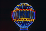 Paris Casino Balloon Neon Lights, Las Vegas, NV Photographic Print