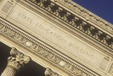 Ornate Columns of the State Education Building, Albany, NY Photographic Print