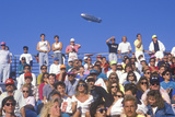 Crowd in Bleachers at Toyota Grand Prix Indy CAr World Series, Long Beach, CA Photographic Print