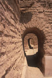 Arched Doorways at the Spanish Mission, Pecos National Historical Park, NM Photographic Print