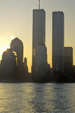 Sunrise over Manhattan, New York City, Ny from New Jersey Photographic Print