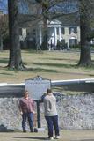 Tourists Taking Souvenir Photos Outside of 'Graceland', Home of Elvis Presley, Memphis, Tn Photographic Print