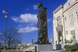 Statue of Christopher Columbus Statue, Columbus, Oh Lámina fotográfica