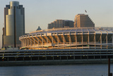 Three Rivers Stadium on Ohio River, Cincinnati, Oh Photographic Print