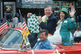 The Grand Marshall at the 1991 Los Angeles St. Patrick's Day Parade Photographic Print
