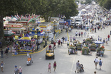 Elevated View of Iowa State Fair, Des Moines, Iowa, August, 2007 Photographic Print