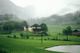 House in Countryside of Guilin, Guangxi Province, People's Republic of China Photographic Print