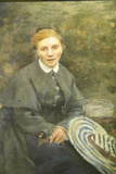 Portrait by Jules Bastien Lepage at Museum of Fine Arts, Nice, France Photographic Print