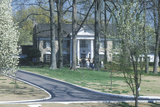 Entrance to Graceland, Home of Elvis Presley, Memphis, Tn Photographic Print