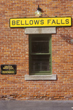 Bellows Falls Train Station Along Green Mountain Railroad in Bellows Falls, VT Photographic Print