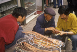 Belts and Leather Goods for Sale in Kunming, Yunnan Province, People's Republic of China Photographic Print
