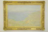 Painting by Monet at Museum of Fine Arts, Nice, France Photographic Print