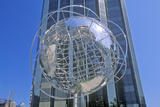Globe Sculpture in Front of Trump International Hotel and Tower on 59th Street, New York City, NY Photographic Print