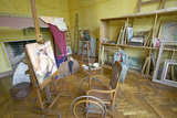 Art Studio of Auguste Renoir at His Home, Les Colettes, Musee Renoir, Cagnes-Sur-Mer, France Photographic Print