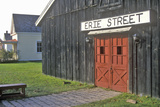 Barn at Erie Street in Erie Canal Village, Rome, NY Photographic Print