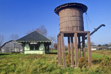 Grain Silo in Erie Canal Village, Rome, NY Photographic Print