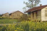 Wooden House Slaves Quarters, Thibodaux, La Photographic Print