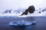 Glaciers and Icebergs in Errera Channel at Culverville Island, Antarctica Photographic Print