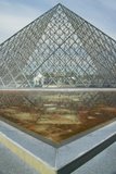 Exterior of the Louvre Museum, Paris, France Photographic Print