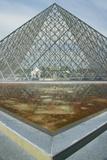 Exterior of the Louvre Museum, Paris, France Photographic Print