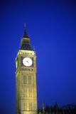 Big Ben Tower at Sunset in London, England Photographic Print