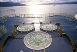 Jacuzzi on Deck of Cruise Ship Marco Polo, Antarctica Photographic Print