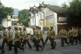 People's Liberation Army in Dali, Yunnan Province, People's Republic of China Photographic Print