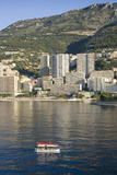 Tender Boats to Monte-Carlo, the Principality of Monaco, Western Europe on the Mediterranean Sea Photographic Print