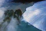 Aerial View of Perito Moreno Glacier Near El Calafate, Patagonia, Argentina Photographic Print