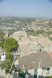 View from Chateau Grimaldi of Haut De Cagnes, France Photographic Print