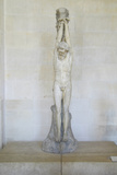 Sculpture of Christ at the Louvre, Paris, France Photographic Print