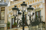 Rod Iron Street Lamps of Avila Spain, an Old Castilian Spanish Village Photographic Print