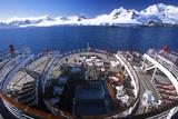 Cruise Ship Marco Polo Rear Deck, Antarctica Photographic Print