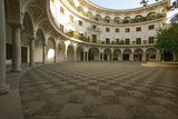 Old Sevillan Courtyard, Sevilla, Andalucia, Southern Spain Photographic Print