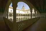 Archways, Center Garden and Courtyard, Toledo, Spain Photographic Print