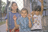 Children in a Los Angeles Ghetto, CA Photographic Print